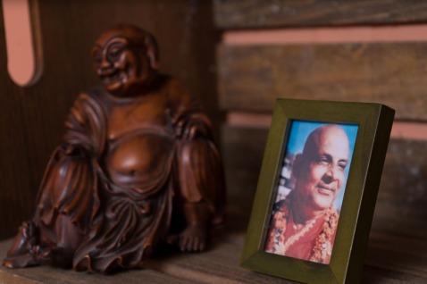studio Sivananda and Buddha