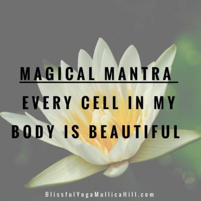 every cell inmy body is beautiful